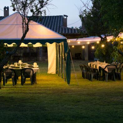 cena in giardino - Agriturismo Sirimagus